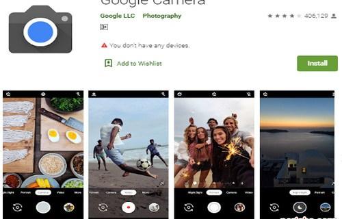 Cara Instal Google Camera