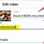 Cara Membuat Hashtag di Atas Judul Video Youtube