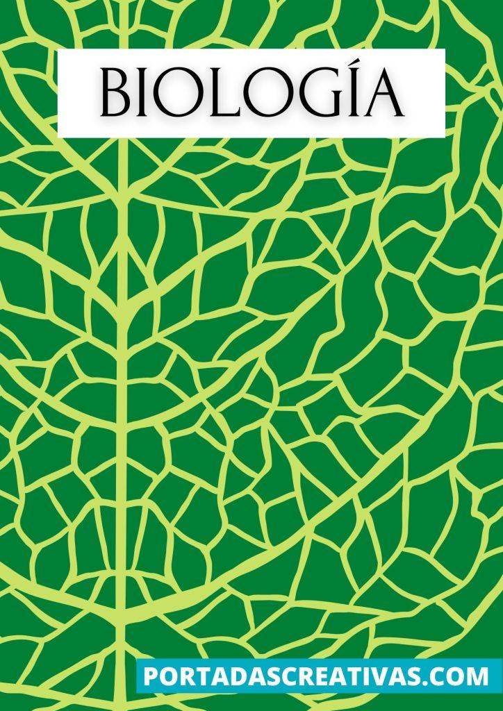 Imagen de portada de biología