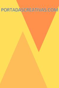 Portada para trabajos amarillo y naranja