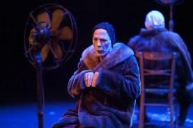 Los dos personajes femeninos de la pieza son interpretados por hombres FOTO: CORTESÍA AGUSTÍN HURTADO