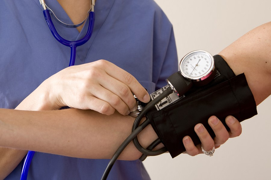 taking-blood-pressure