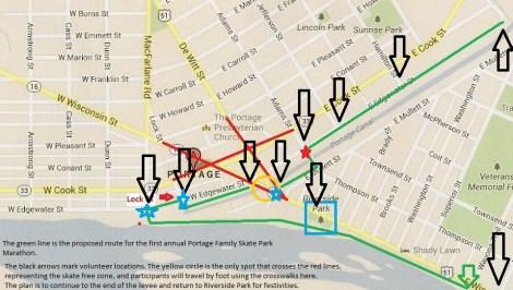 PFSP Marathon Map