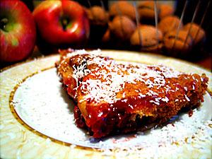 alice'in elmalı kızılcık tatlısı :: tijen inaltong :: mevsimlerle gelen lezzetler