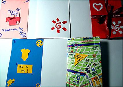 mektup kartları