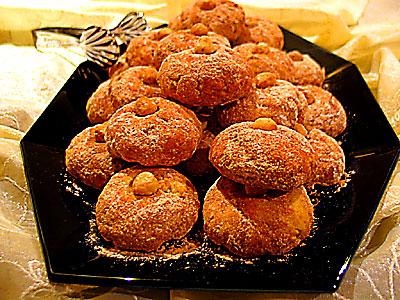 fındıklı ve tarçınlı kurabiye