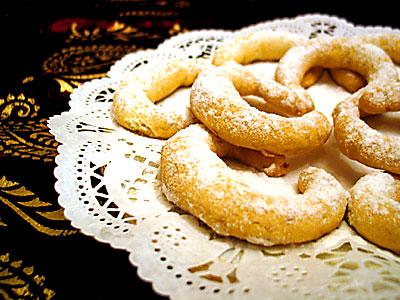 iç bademli kurabiye