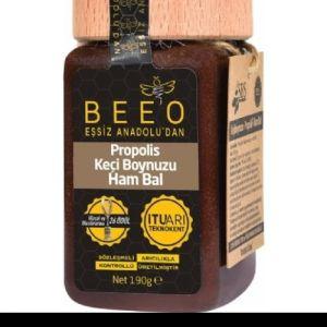 BEEO Keçi Boynuzu + Propolis + Ham Bal karışımı (190 gr)