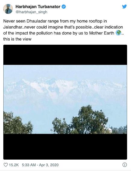 El Himalaya se puede ver desde la India nuevamente luego de 30 años