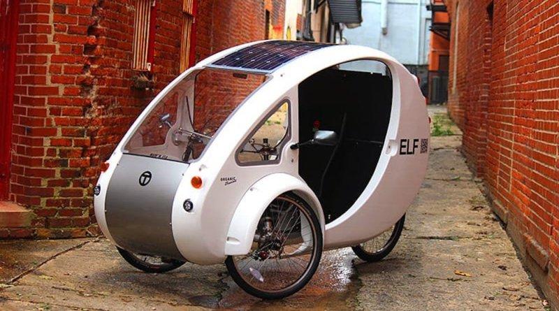 Esta bicicleta eléctrica tiene techo solar incorporado y es cero emisiones