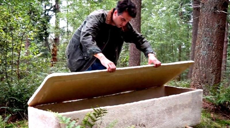 , Ataúd orgánico y compostable se utiliza por primera vez en un entierro
