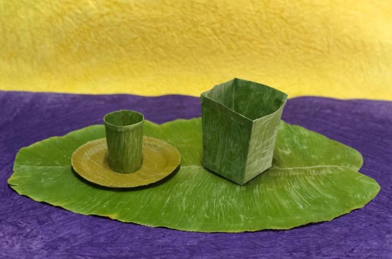 Banana Leaf: tecnología que sustituye el plástico con hojas de banano -