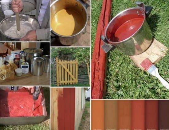 Cómo hacer pintura natural para madera a base de harina - Eco Jardín Mágico