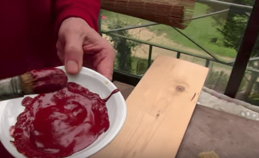 Cómo preparar pintura natural a base de harina
