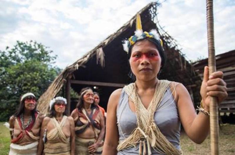 """Mujer indígena gana """"Nobel ambiental"""" por defender el Amazonas de la extracción petrolera – Cultura Filosófica"""