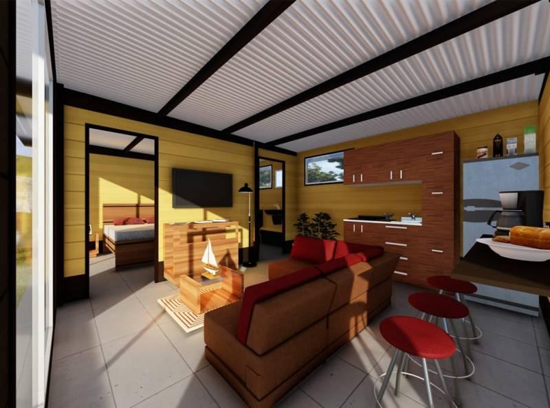 , Empresa Colombiana construye casas ecológicas a muy bajo costo, hechas con desechos de café