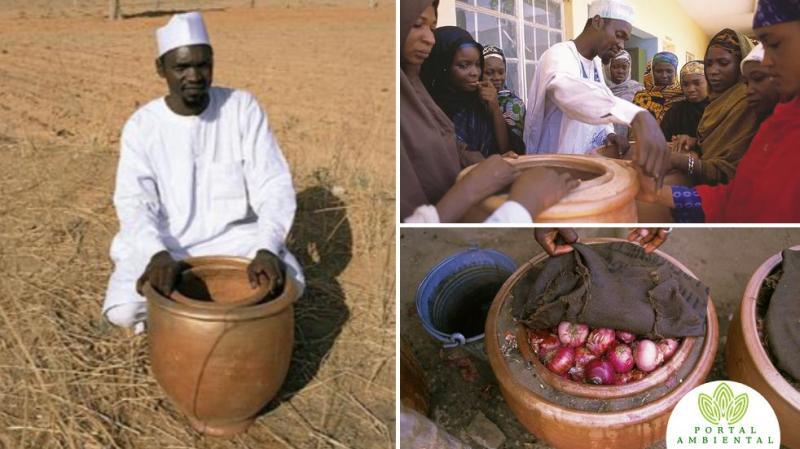 , Profesor Nigeriano enseña a hacer una nevera que no necesita energía para funcionar