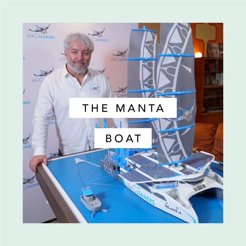 , El velero Manta recoge basura del mar y la convierte en combustible
