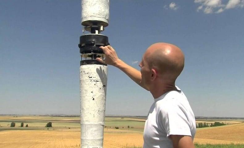 , Jóven creó un aerogenerador sin aspas que aprovecha la energía del viento sin dañar a las aves