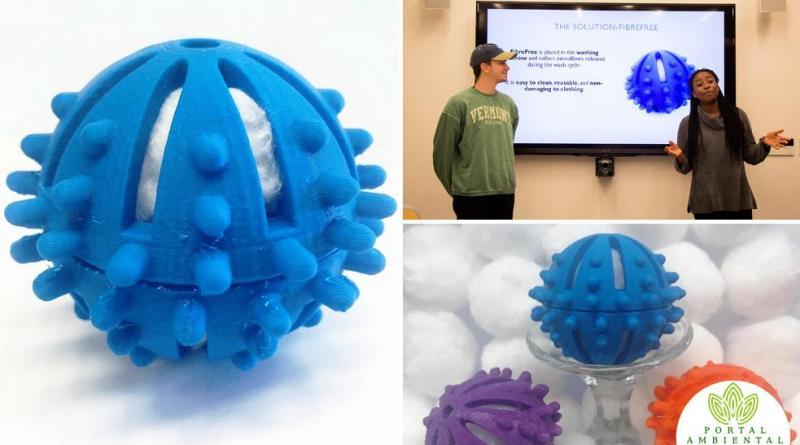 , Estudiantes crearon un simple filtro de lavado para evitar que la micro-fibra llegue a los océanos