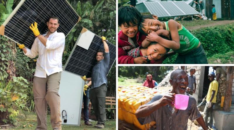 , Crean Planta solar que convierte 75.000 litros de agua de mar en agua potable por día