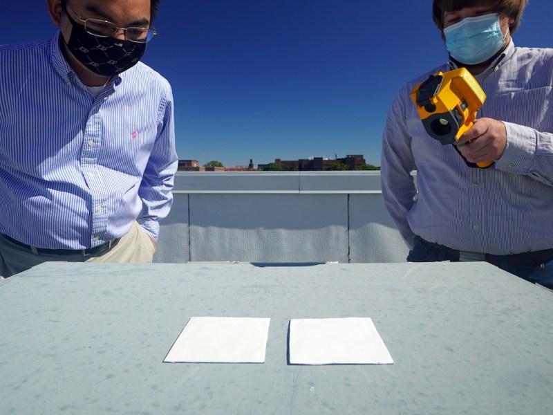 , Investigadores crean pintura ultra blanca que ahorra 70% los costos de aire acondicionado