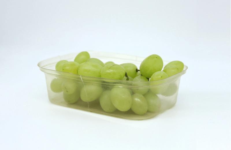 , Este envase hecho de algas mantiene los alimentos frescos el doble de tiempo