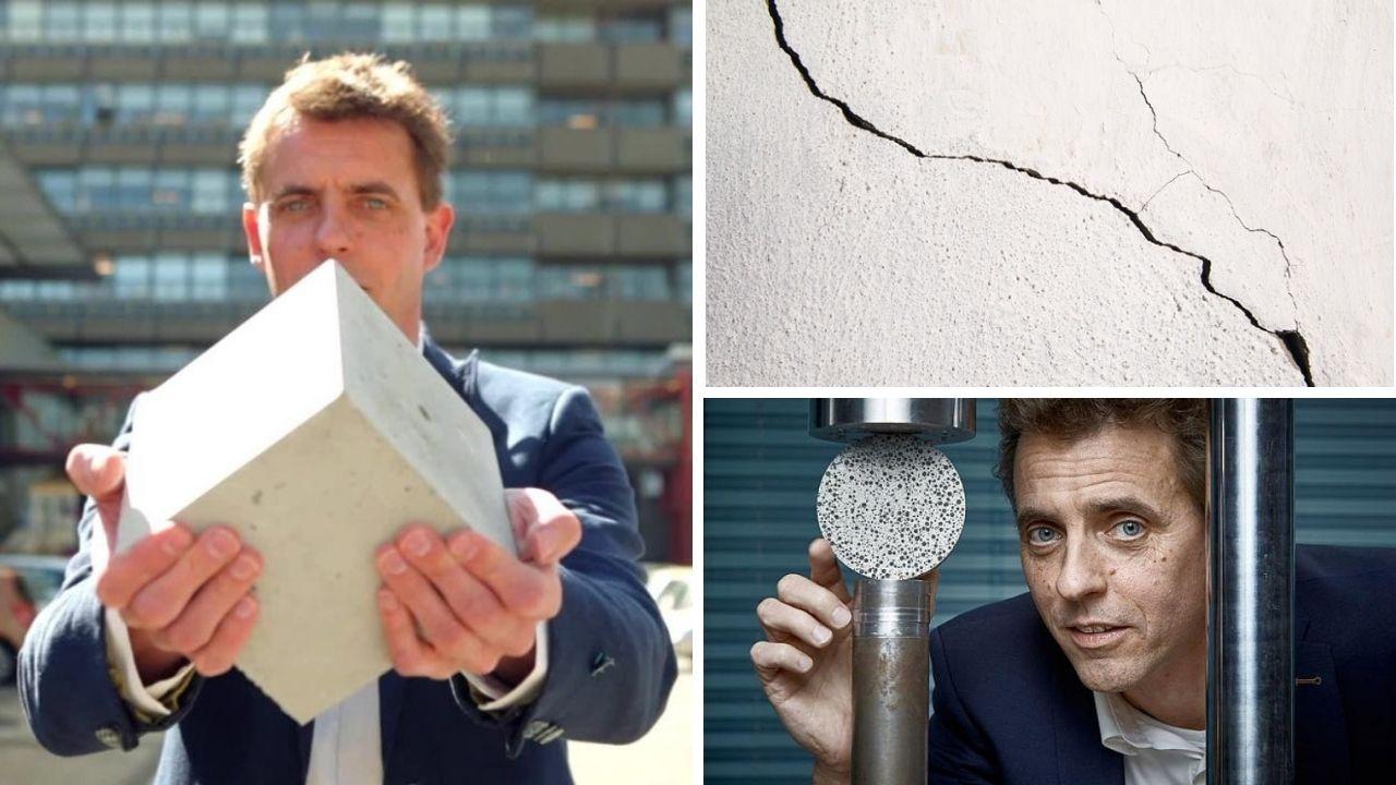 Crean Bio-concreto que se auto-regenera por más de 200 años