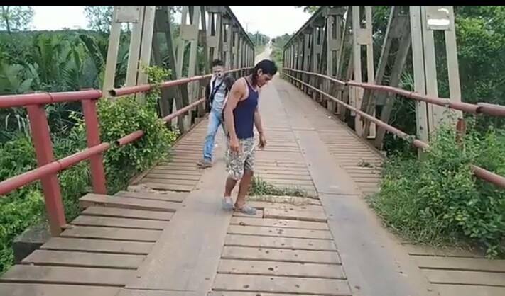 Photo of Diminta Kejelasan Jumlah Besi, LHP Tim Audit Jembatan Tanah Kering Malah Bahas Volume