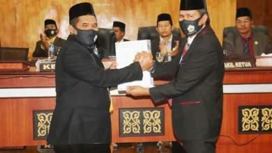 Photo of Sidang Paripurna Pembahasan Rancangan KUA-P Dan Rancangan PPAS-P T.A 2020 Kabupaten Bener Meriah Ditutup