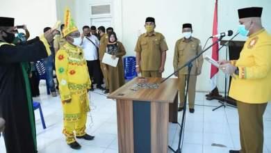 Photo of Bupati Shabela Lantik HM. Rasyid Sebagai Mukim Laut Tawar Periode 2020-2025
