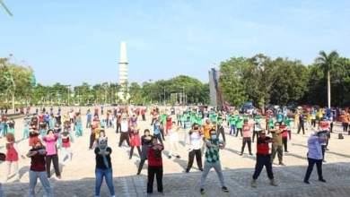 Photo of Peringati Haornas 2020, Pemkab Mura Gelar Senam Bersama