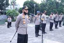 Photo of Kapolda Sumsel Menjadi Pimpinan Apel dan Monitoring Pelaksanaan Ops Yustisi