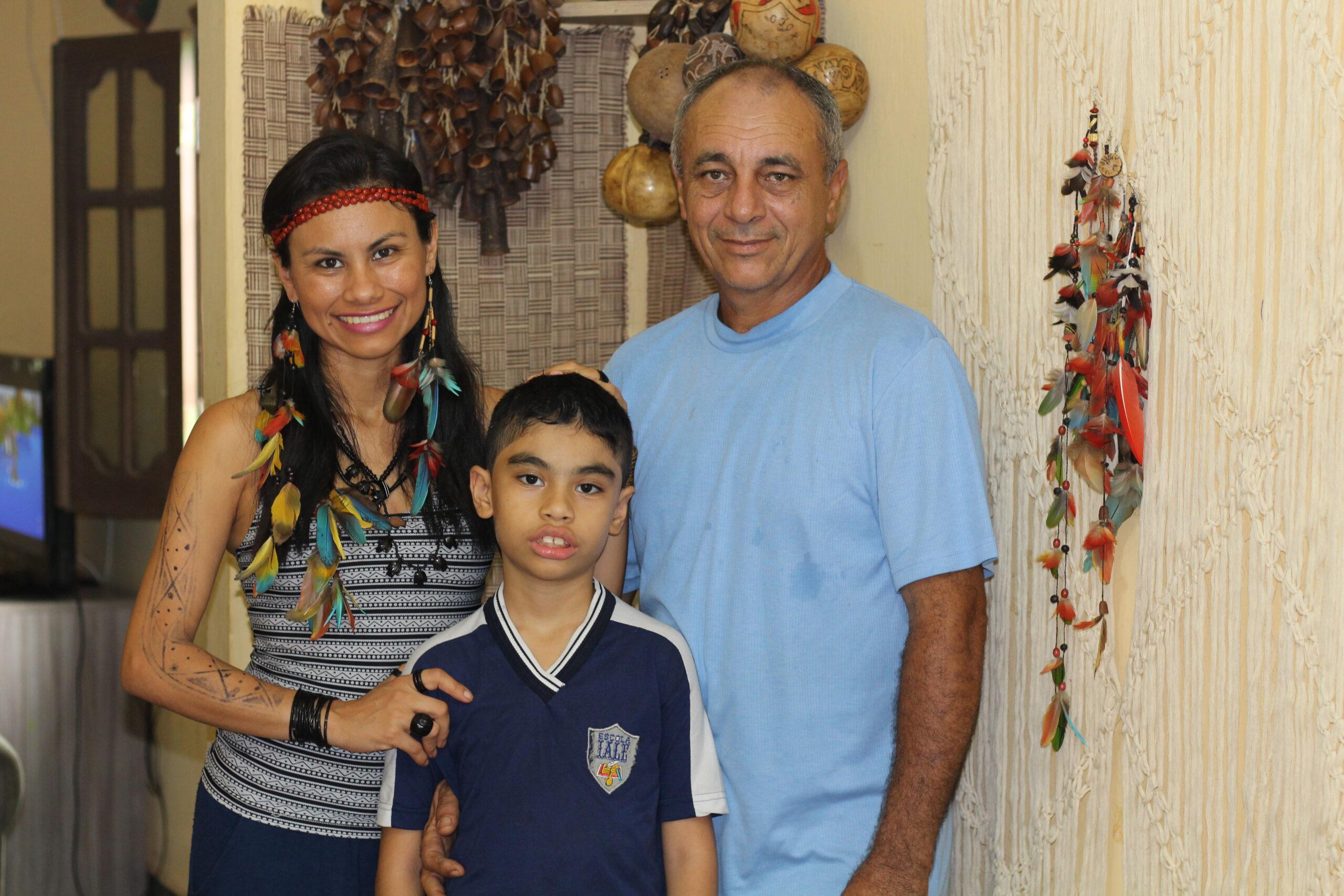 Família Afetiva: ADPEP conta a história de uma indígena casada com um não indígena