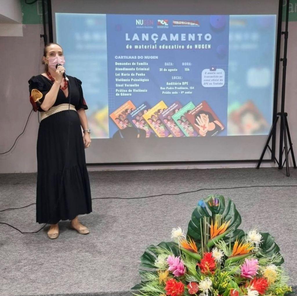 ADPEP participa do lançamento do Material Educativo do Núcleo de Prevenção e Enfrentamento à Violência de Gênero da DP
