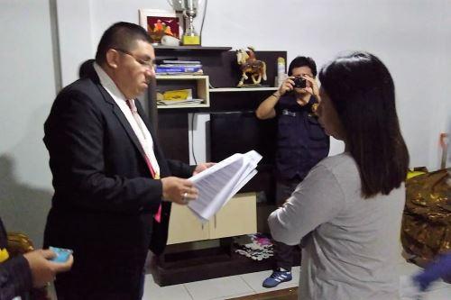Fiscalía intervino a la alcaldesa electa de Lobitos, María Excelina Chapilliquen Ruiz, por presuntos vínculos con organización criminal.