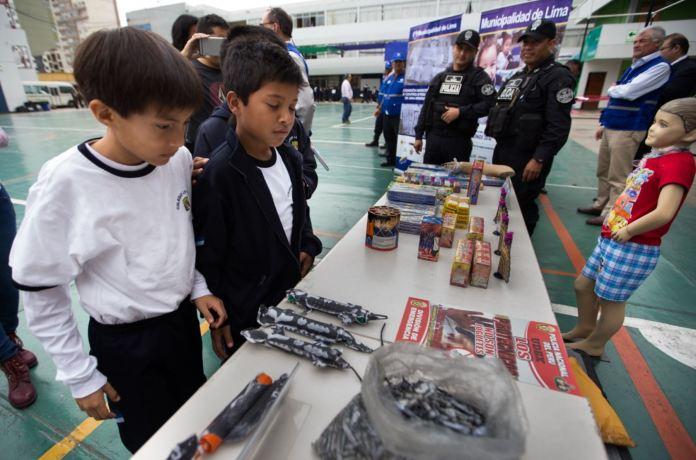 Resultado de imagen para Advierten a escolares sobre daños que causa la manipulación de pirotécnicos
