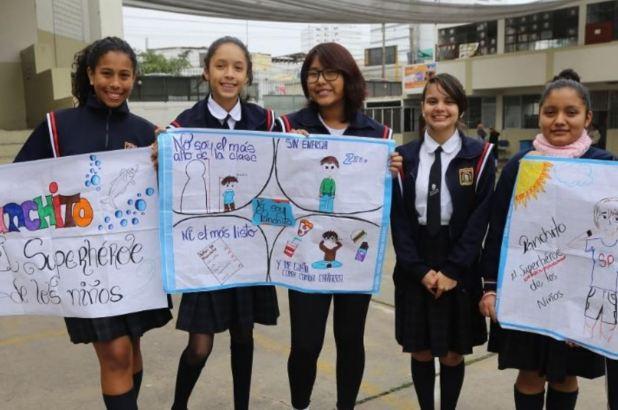 Escolares promoverán estilos de vida saludable. Foto: ANDINA/Difusión.