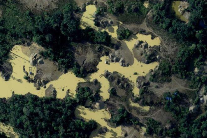 La minería ilegal es una de las principales amenazas de la Amazonía peruana. ANDINA/Difusión