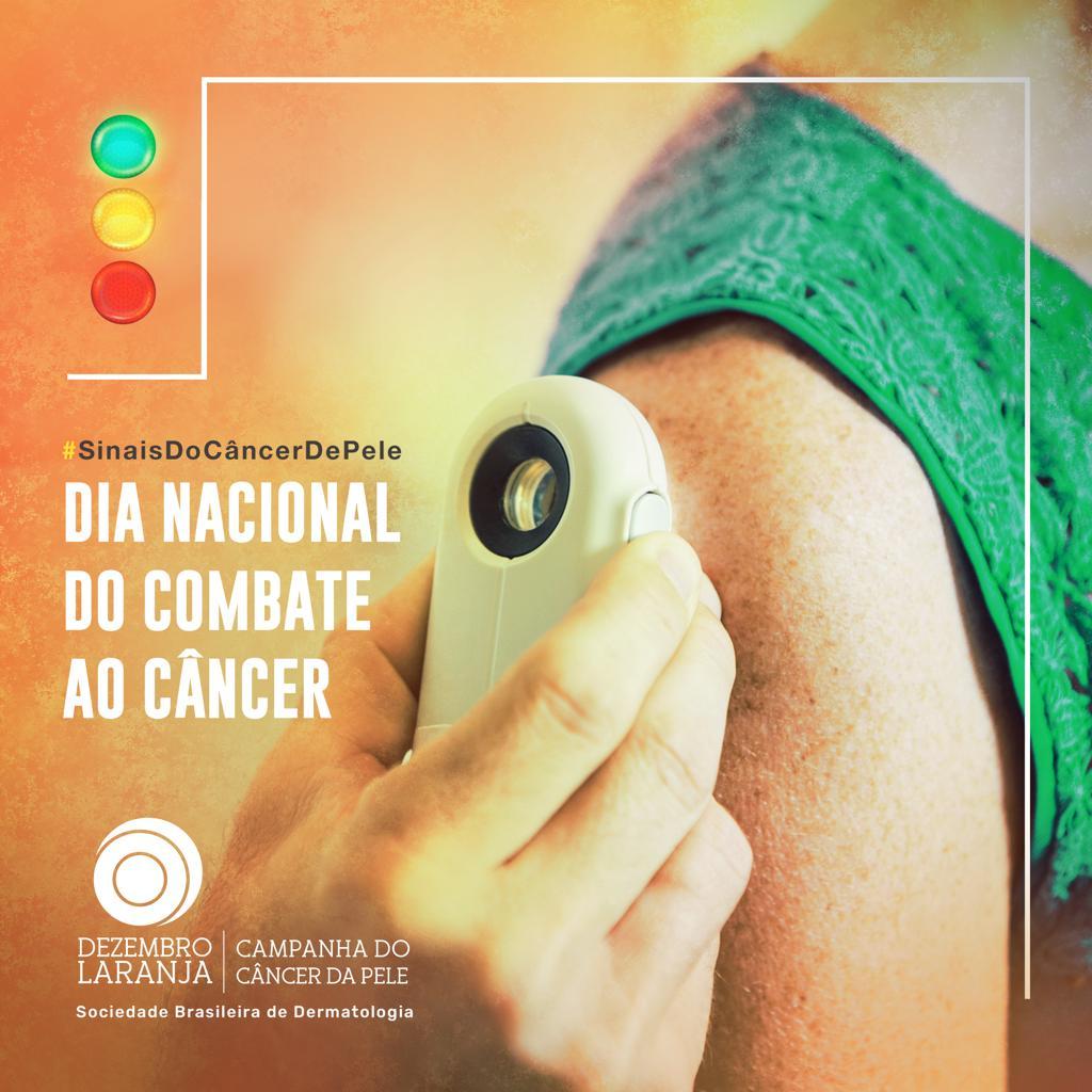 Dia Nacional de Combate ao Câncer de Pele terá atendimento gratuito a população