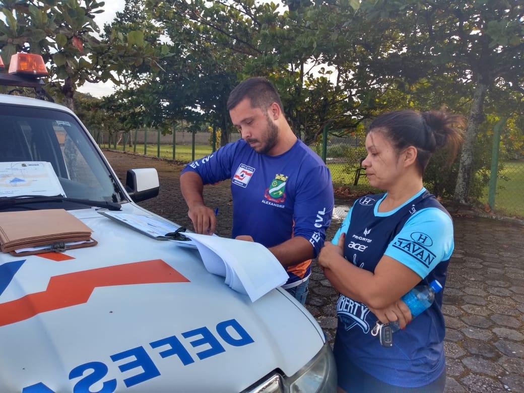 Defesa Civil realiza Teste de Aptidão Física com candidatos do curso de voluntários