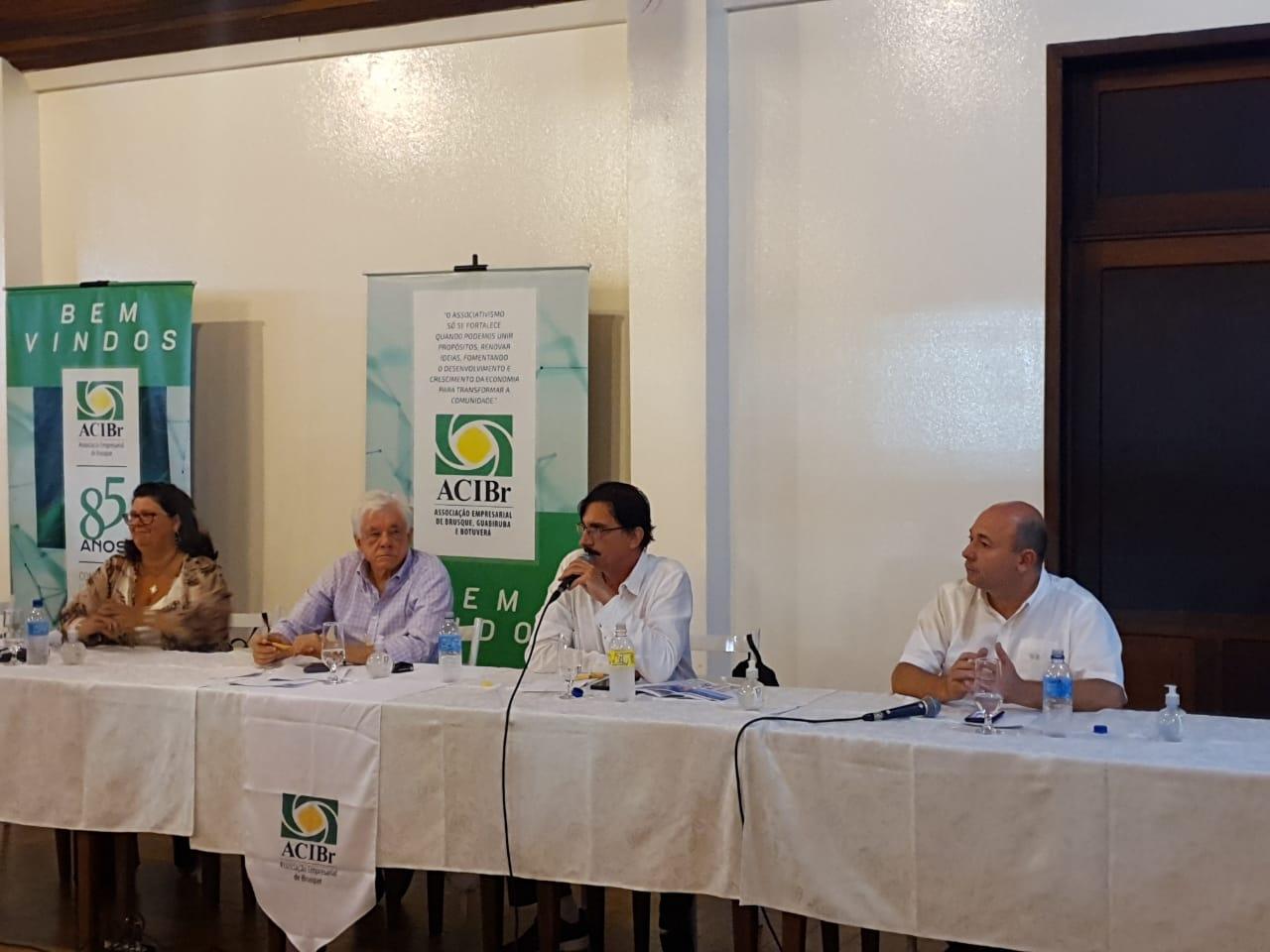Prefeitura participa de reunião do comitê preventivo do coronavírus da ACIBr