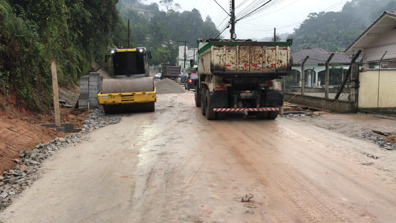 Rua Carlos Ristow vai ser interditada para obras