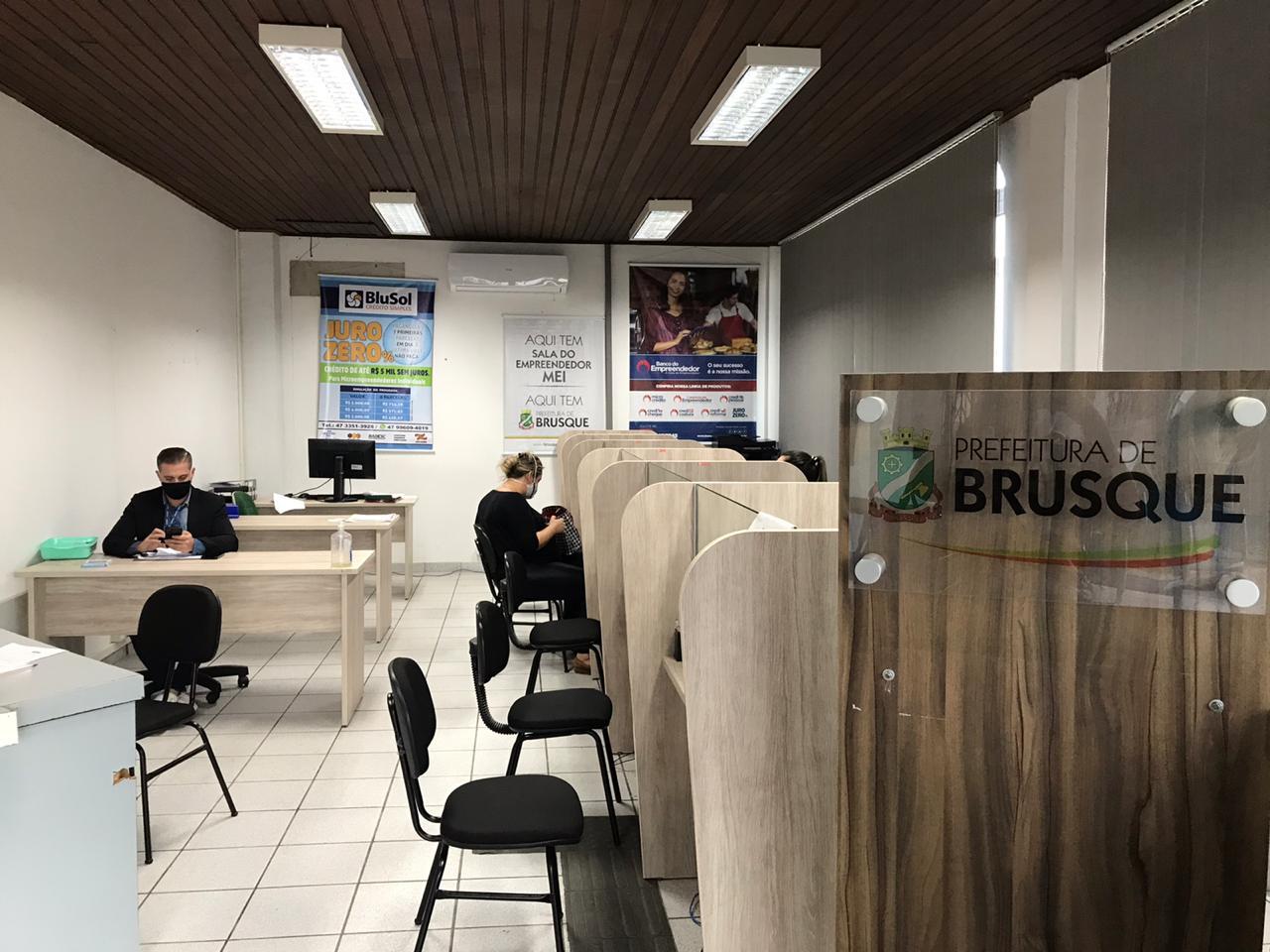 Tempo de abertura de empresas em Brusque é menor após adequação da Lei da Liberdade Econômica
