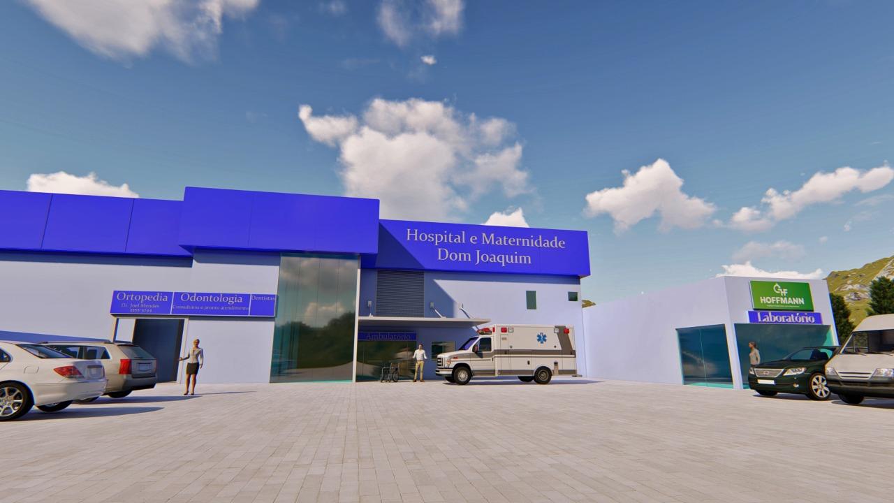 Deputado Chiodini destina emenda parlamentar para o Hospital Dom Joaquim
