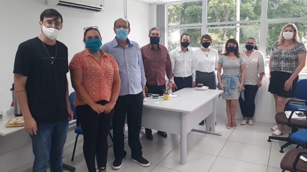 Vice-Prefeito de Brusque,Gilmar Doerner,  e secretário de Desenvolvimento Social realizam visita técnica em Blumenau