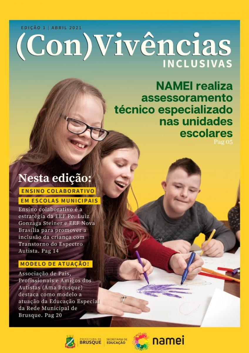 Secretaria de Educação de Brusque lança revista sobre inclusão escolar
