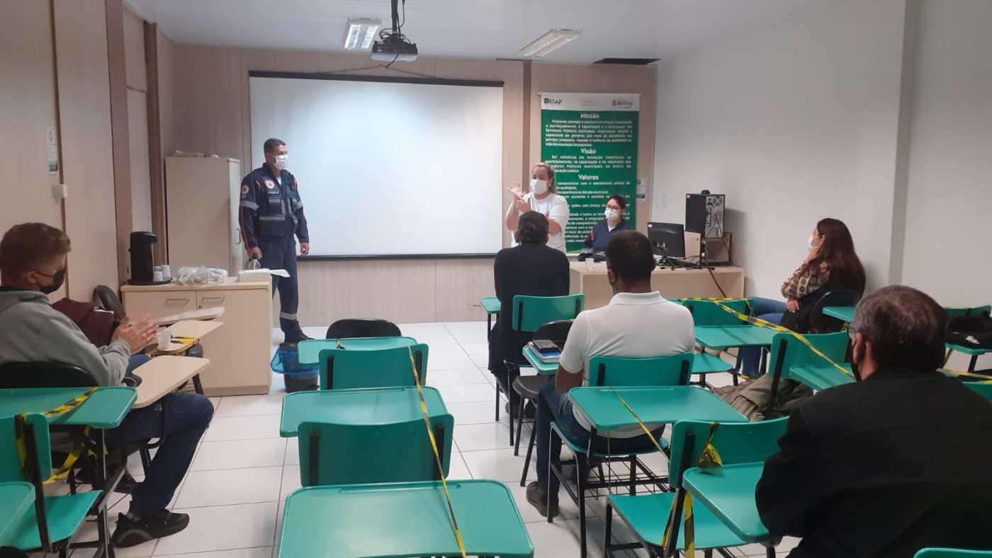 Membros da Cipa participam de capacitação de primeiros socorros