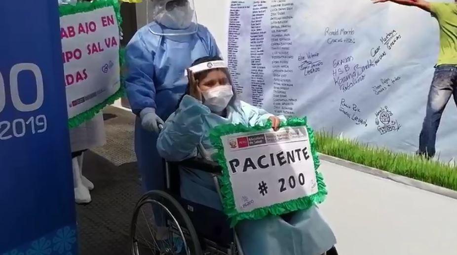 Paciente de Centro de Hospitalización LEGADO derrotó al Covid-19