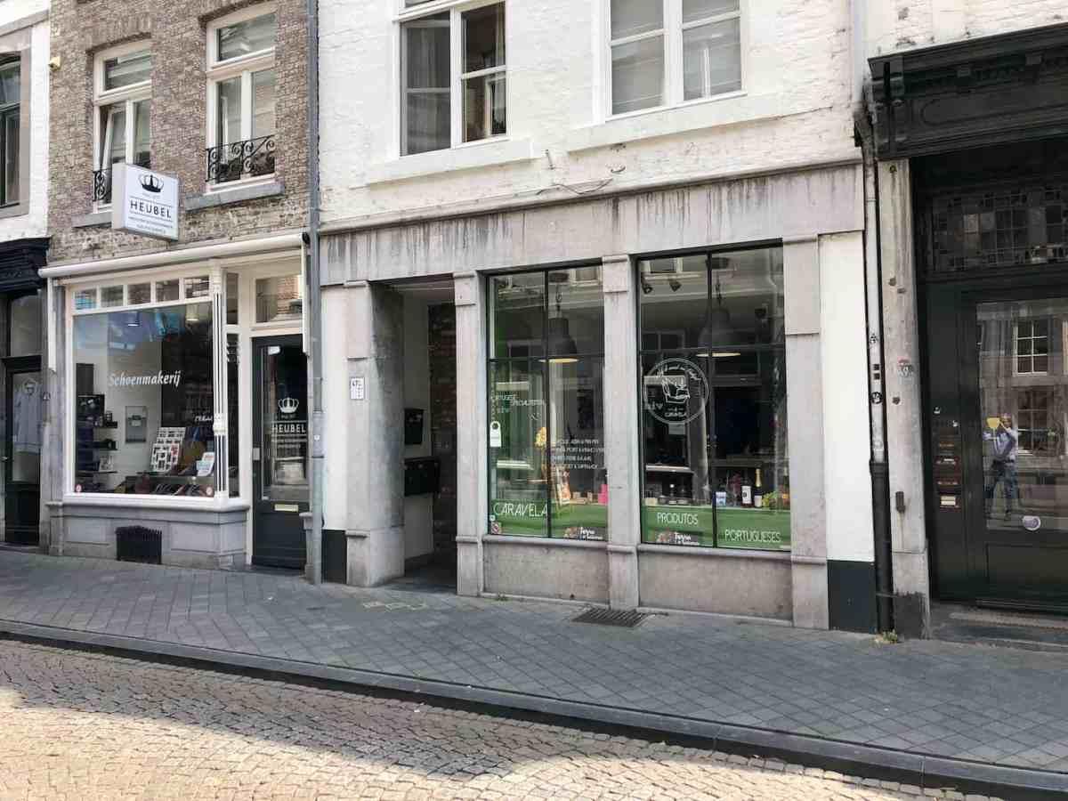 Winkelpand voor delicatessenzaak/winkelondersteunende horeca in Wyck